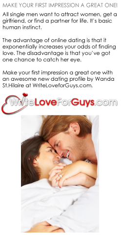 Write Love For Guys - Make Your First Impression A Great One